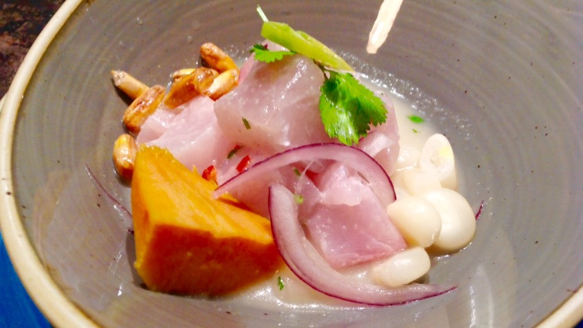 Totora ceviches