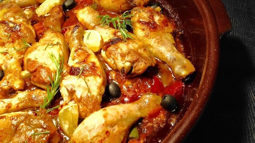 pollo marroqui