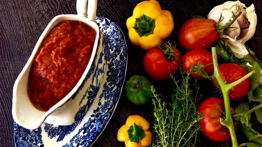 salsa de tomate con anis estrellado