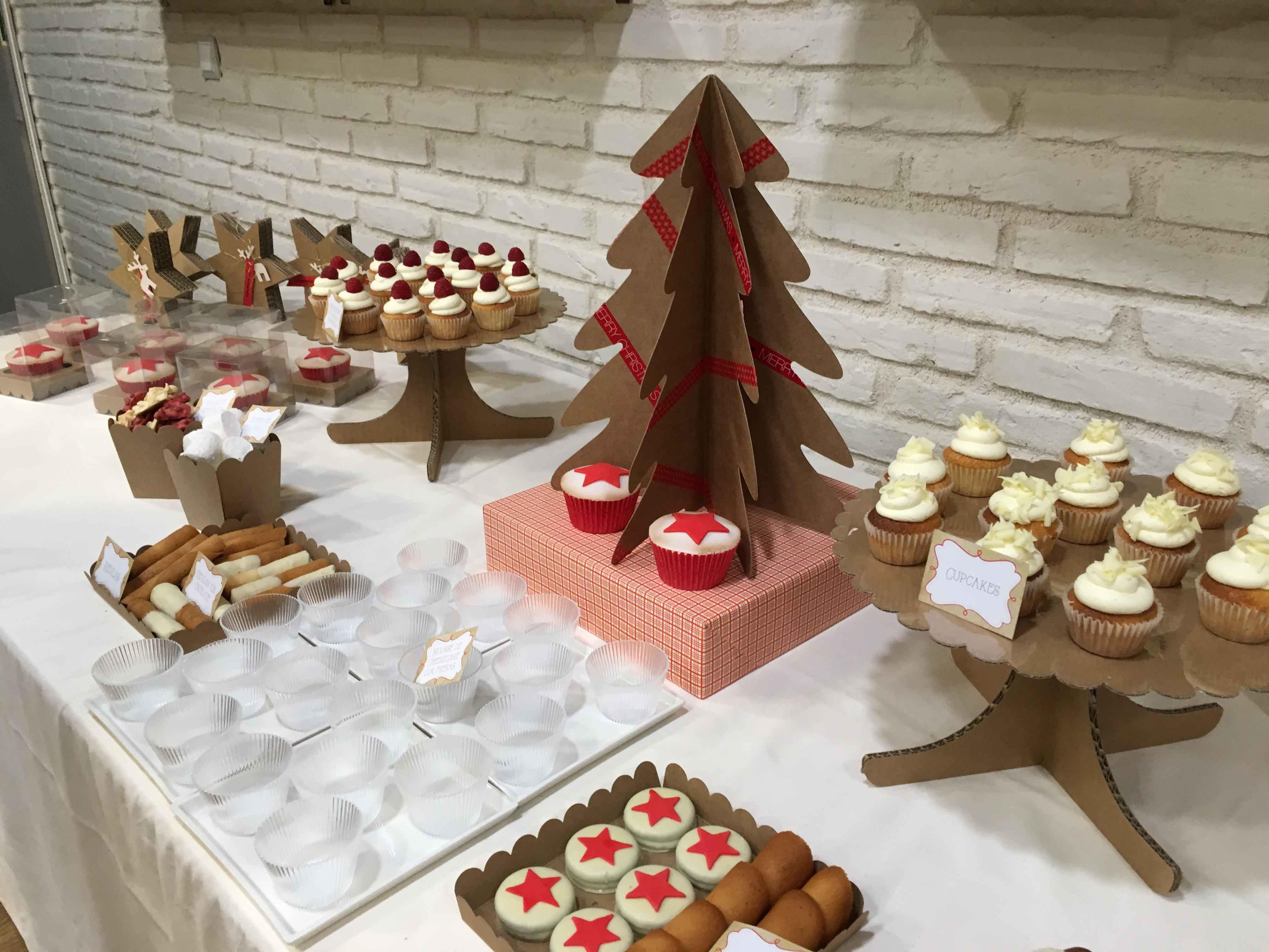 una mesa de dulces en navidad las recetas de elisa