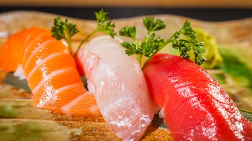 Niguirs de sushi b