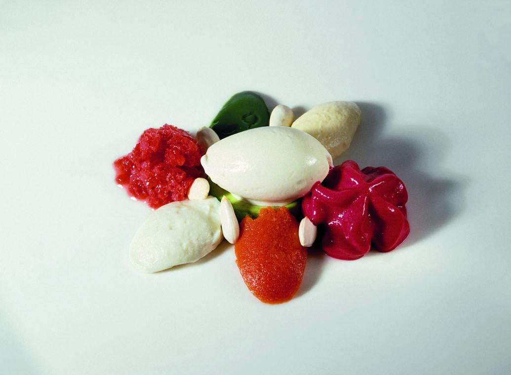 Menestra de verduras con champi ones y sobrasada for Ferran adria platos