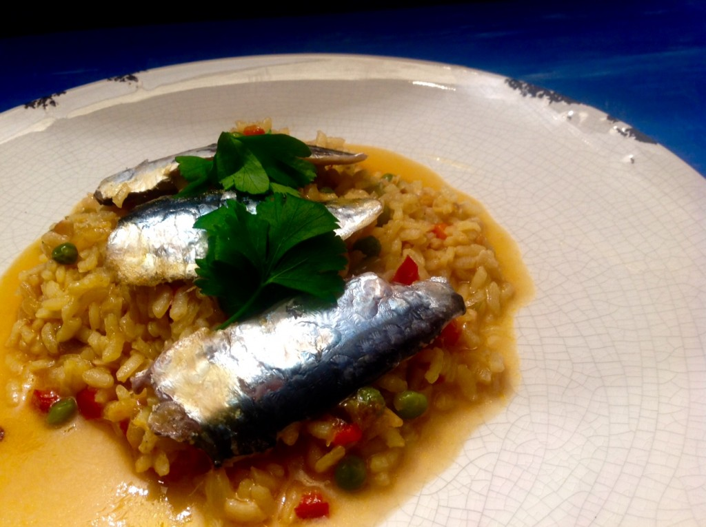 arroz y sardinas 1
