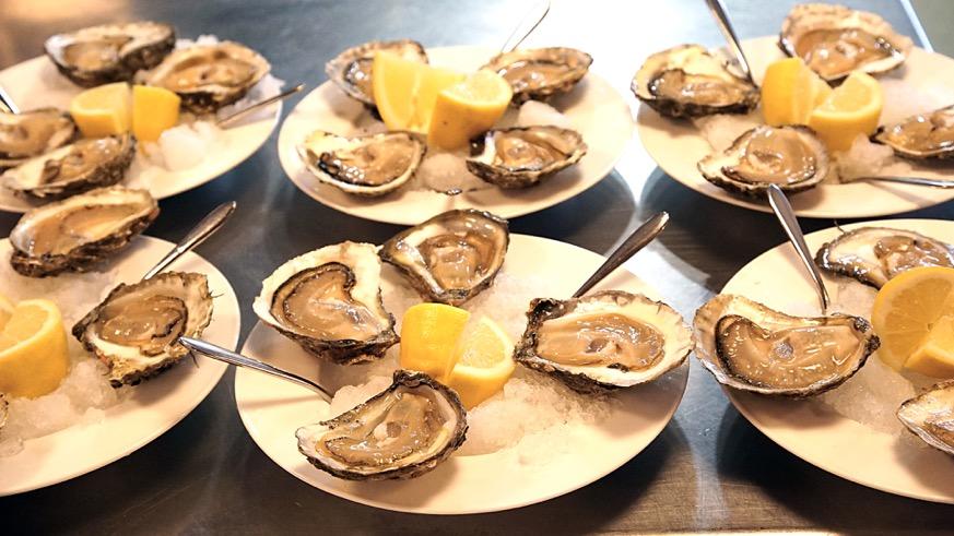 carballeira platos de ostras