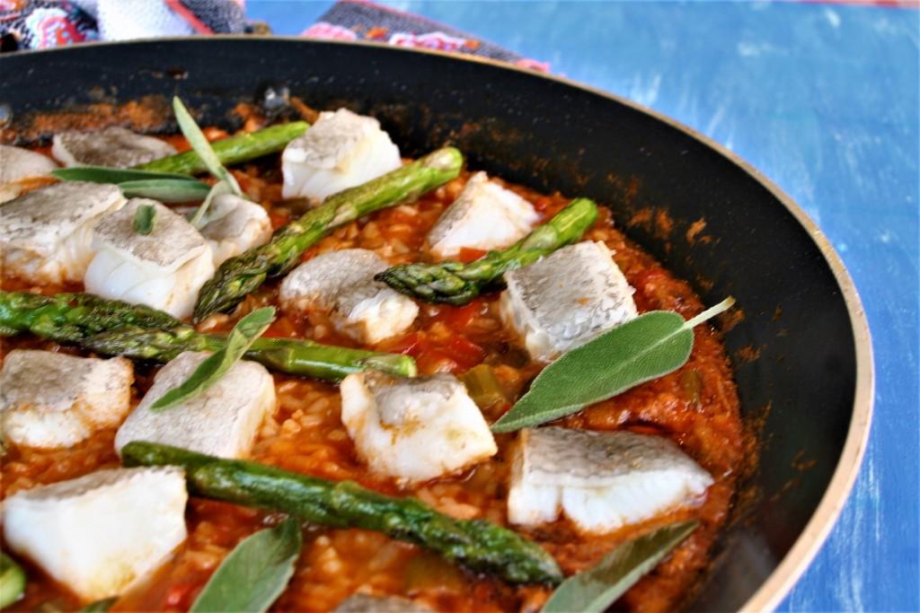 arroz de bacalao antonio