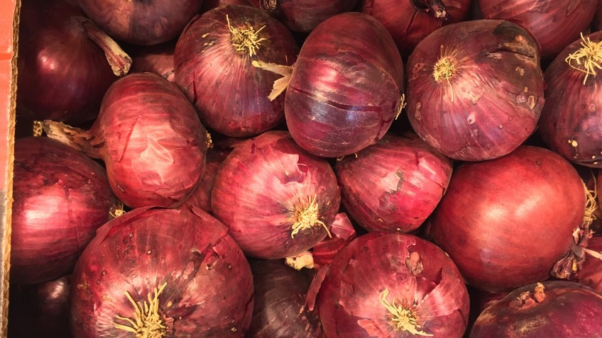 cebollas rojas
