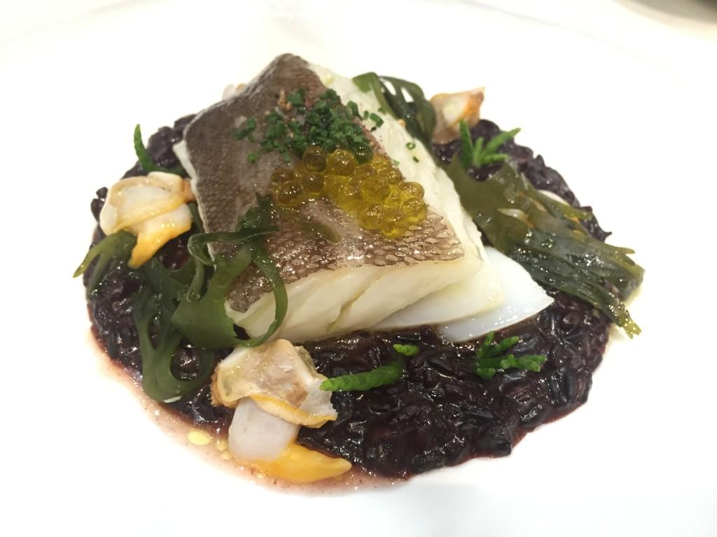 la taverna del clinic bacalao algas
