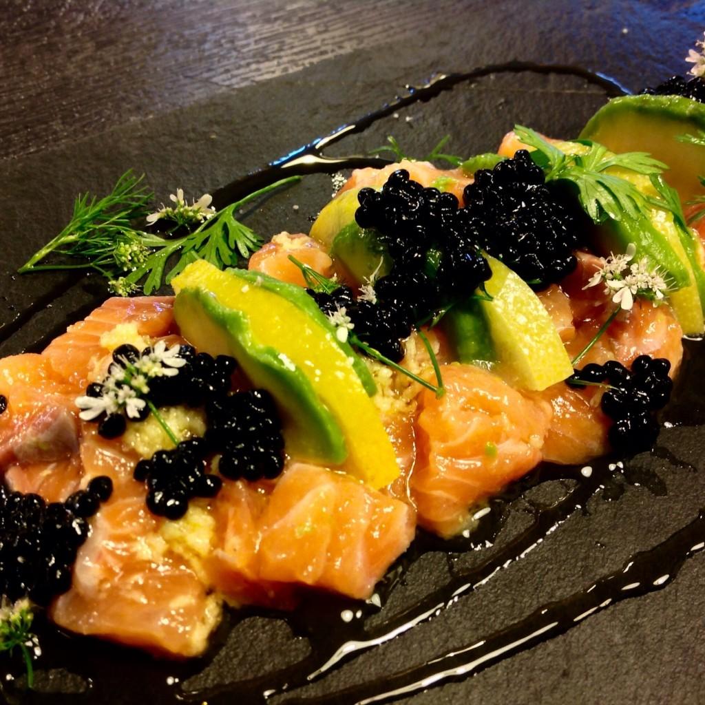 tartare salmon limon