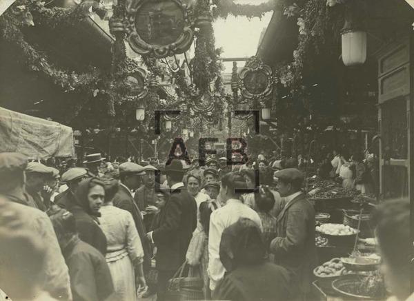 La Boqueria 1910