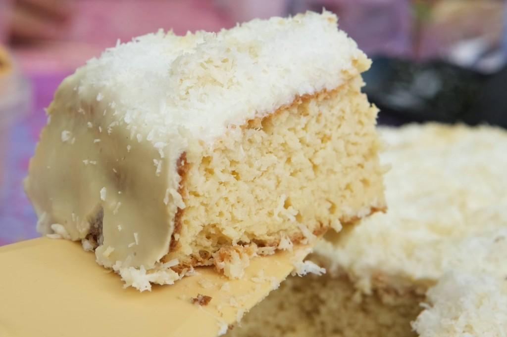 pastel de coco sin gluten de Leny Mattos