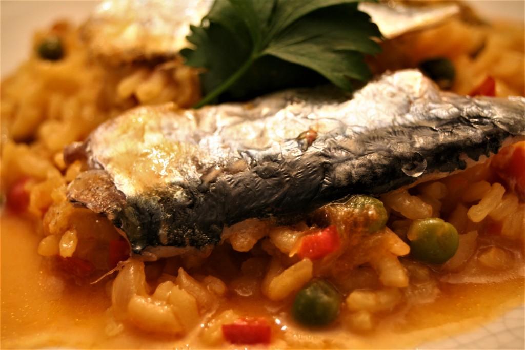 arroz marinero de sardinas