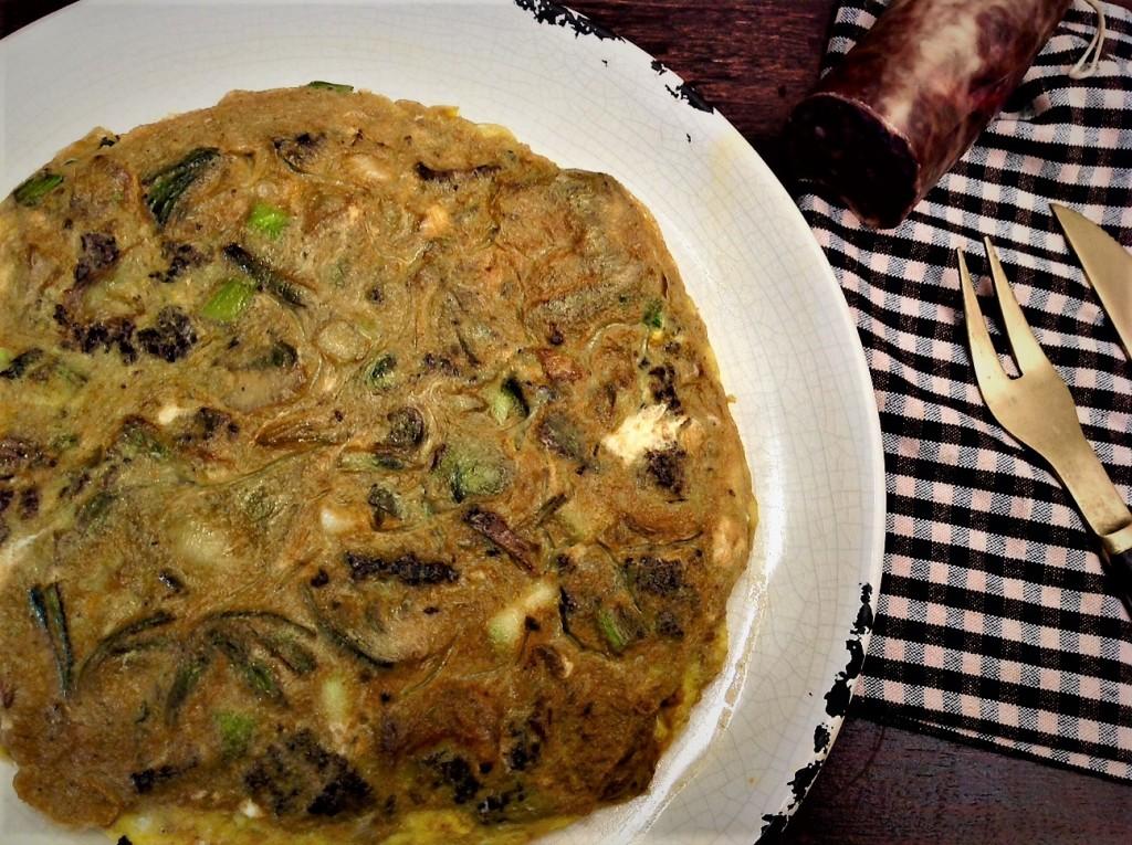 tortilla alcachofas 3