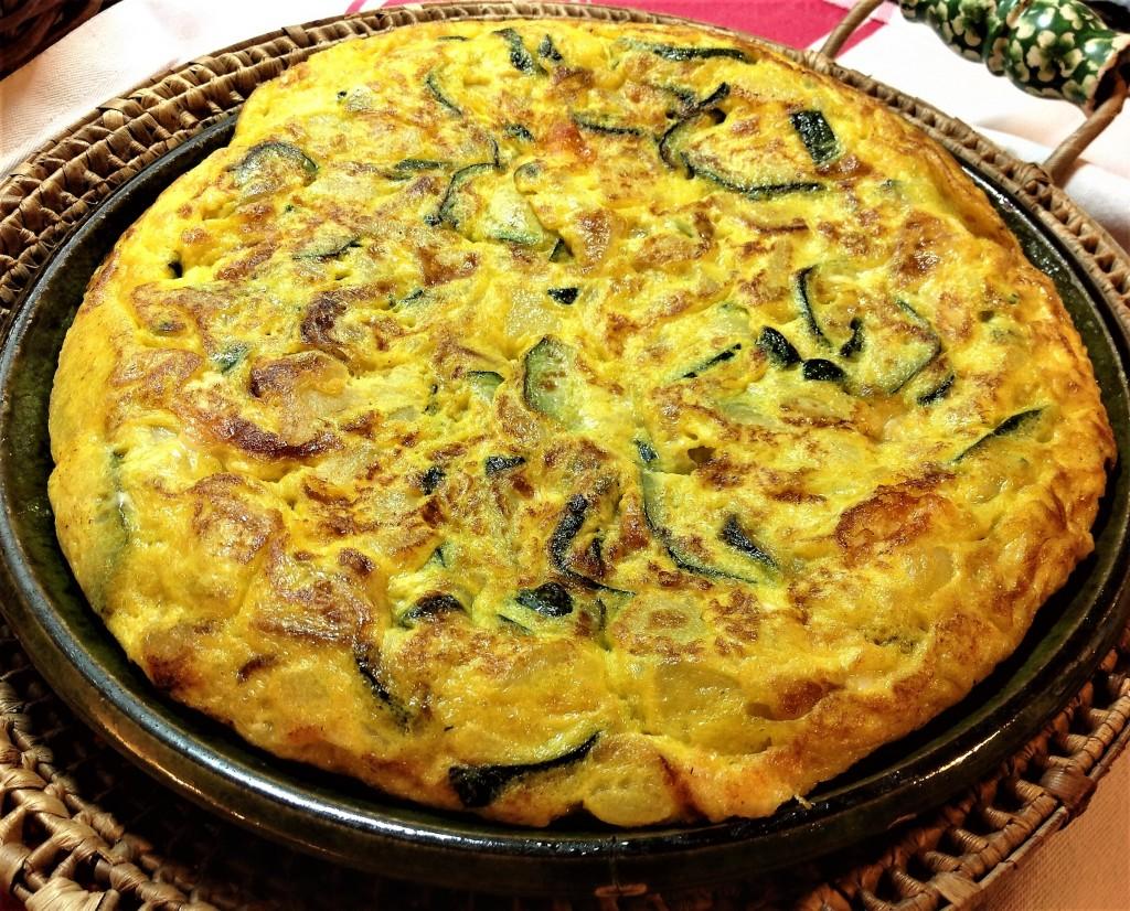 tortilla calabacin 1