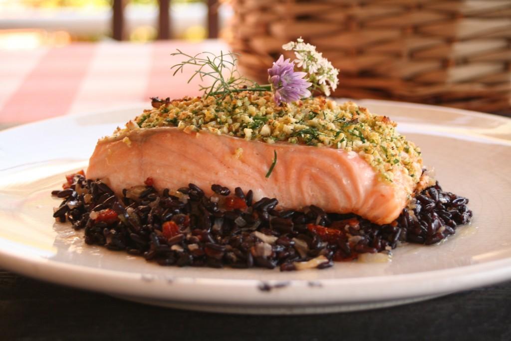salmon y arroz venere 1