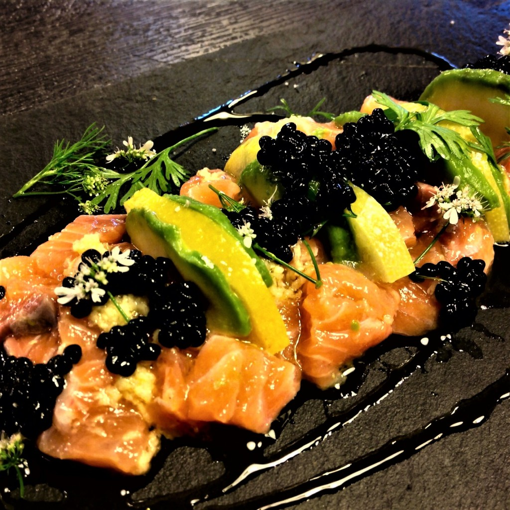 tartare salmon 1aguacate