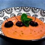 sopa cerezas
