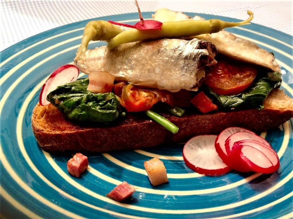 bocata sardinas