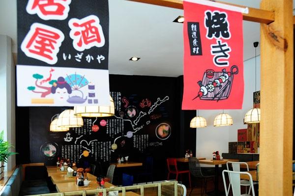 Detalle decoración - Ramen Shifu Zurbano