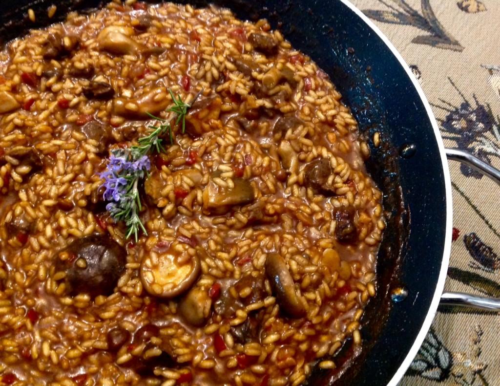 arroz de cabra otoñal