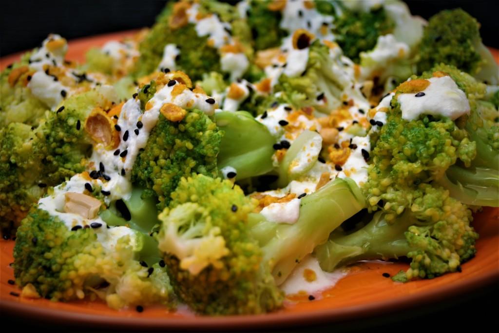 brócoli con salsa de queso perfecta