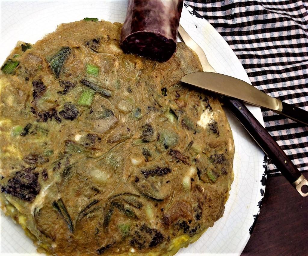 tortilla alcachofas 2