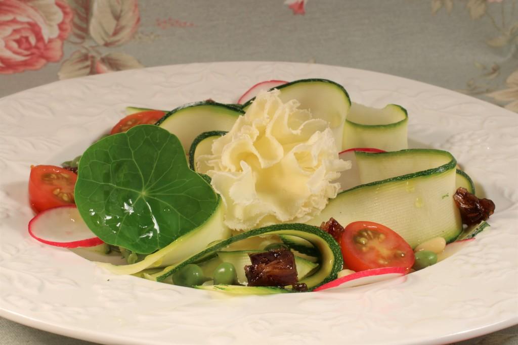 ensalada de calabacin muy bien