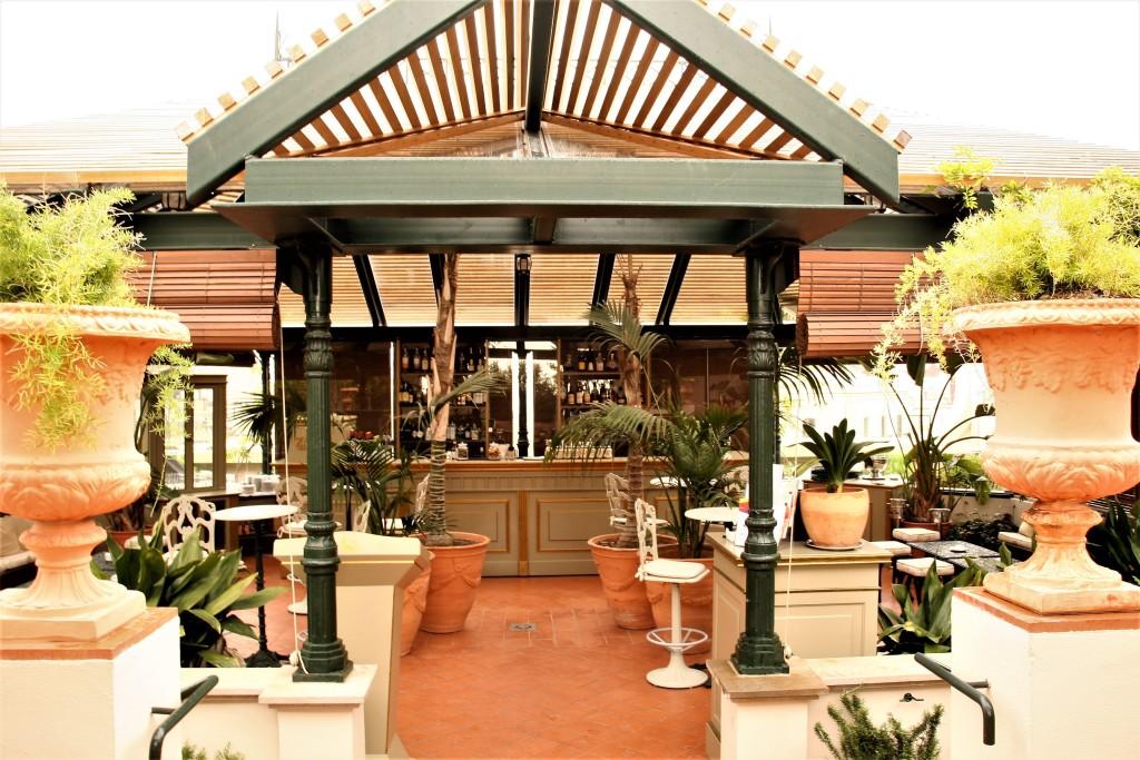 palace entrada terraza