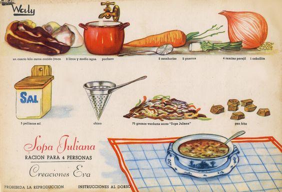 receta antigua