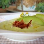 sopa de melon muy bien