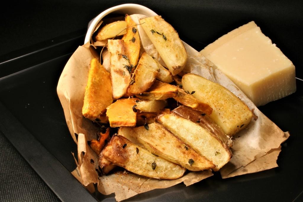 patatas boniatos horno