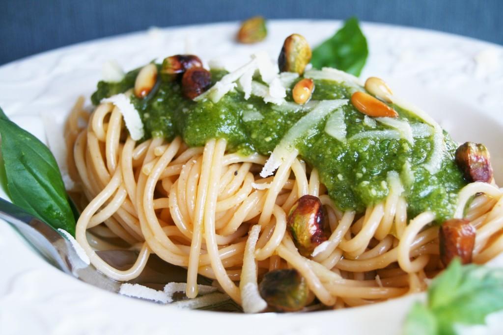 pasta pesto pistachos1