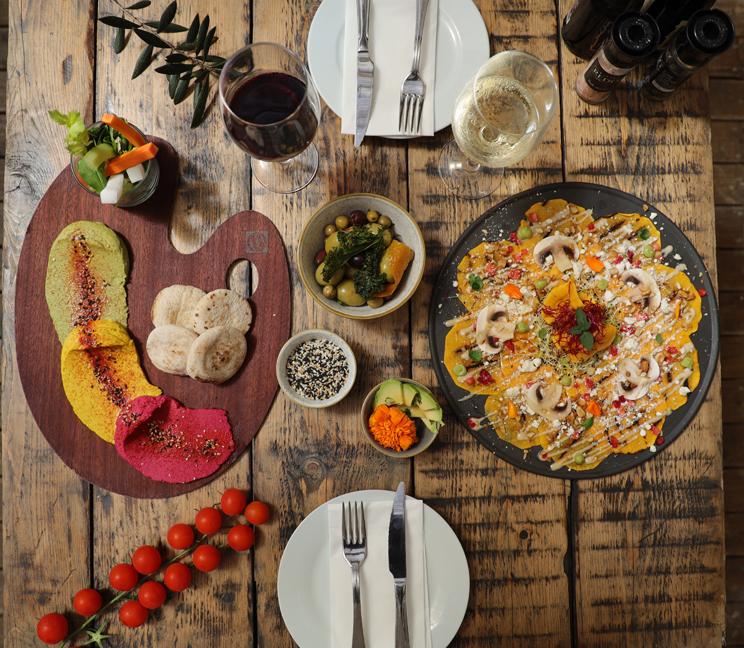 comida healthy en ethniko