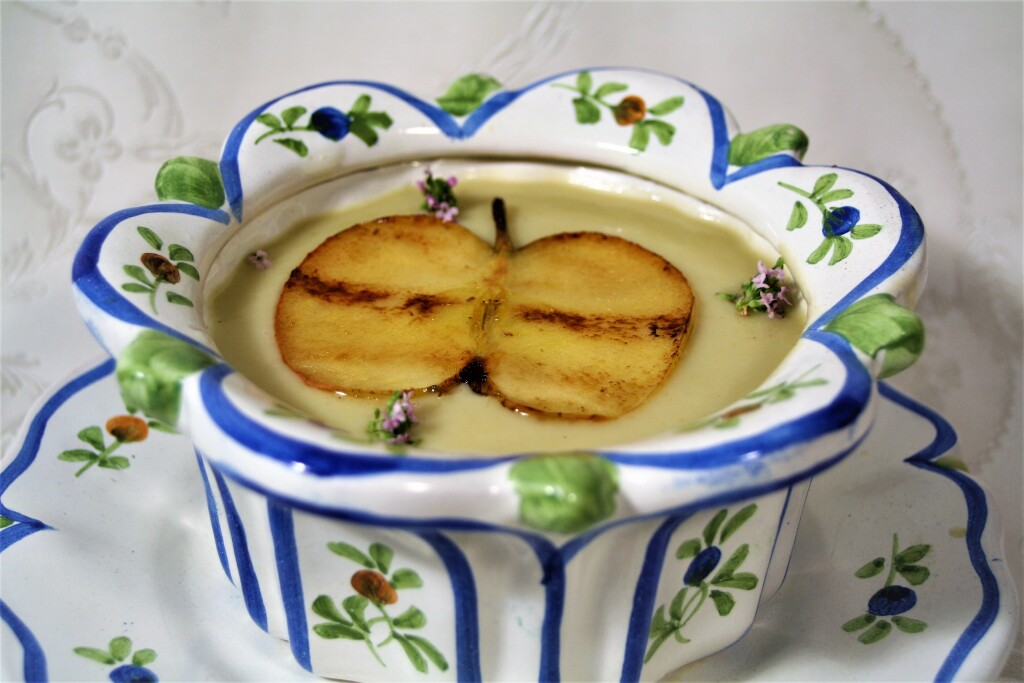 Crema de manzana e hinojo