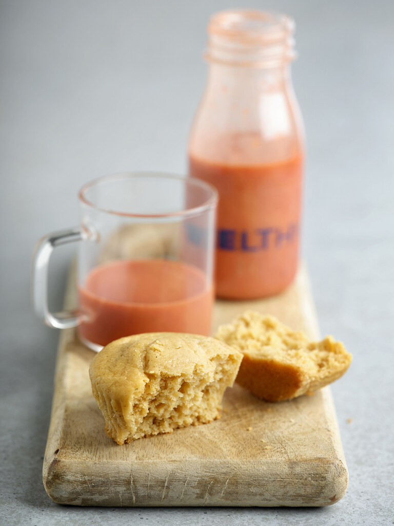 Welthy verano_Smoothie y muffin de manzana_2